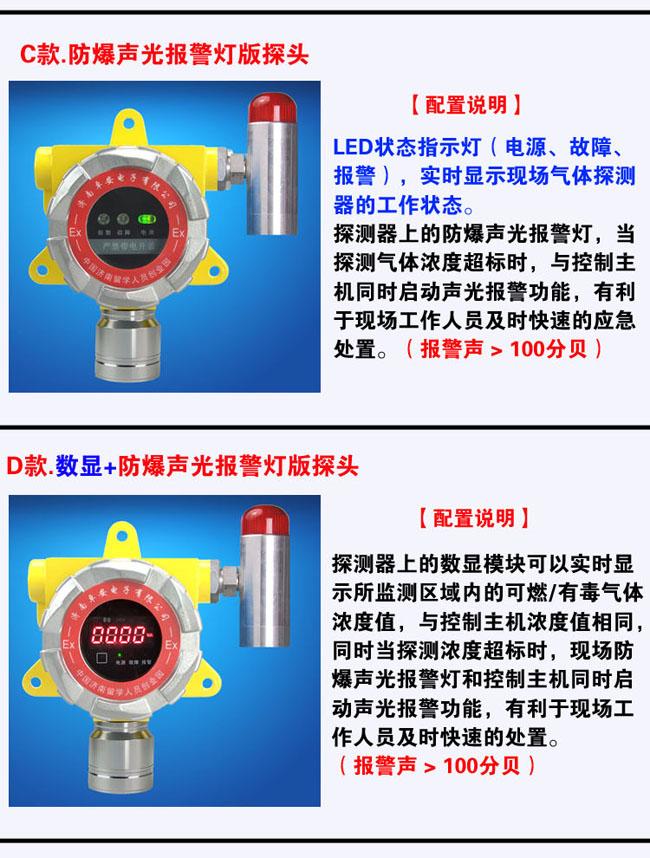 固定式冰醋酸报警器多款选择